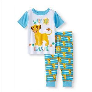 SALE 4/$30 NWT Disney pajama Lion Ling 2 piece set